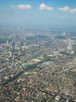 stadsbild utsikt över bangkok foto
