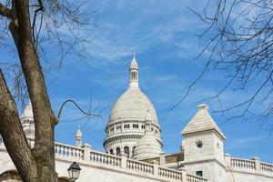 basilikan av det heliga hjärtat av paris i paris, frankrike