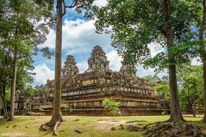 östra Mebon Prasat tempel för Angkor Wat vid Siem Reap, Kambodja foto