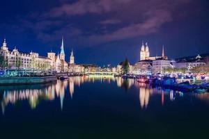 Zürichs centrum, Schweiz