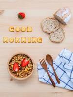god morgon koncept foto