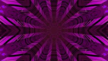 färgglad 3d kalejdoskopdesignillustration för bakgrund eller konsistens