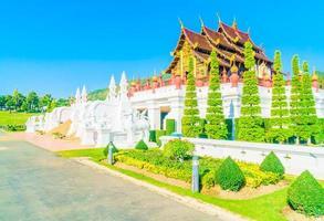 kunglig paviljong i Chiang Mai, Thailand