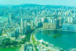 stadsbilden i Macau City