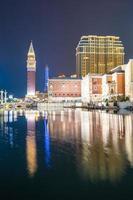 venetianska och andra hotell och kasinon i Macau City