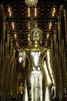 buddhistiskt thailändskt tempel i Chiang Mai