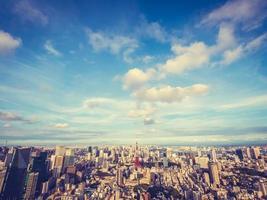 stadsbilden i Tokyo stad i Japan