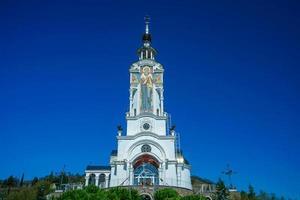saint nicholas wonderworkerkyrkan i taganrog i Rostov oblast, Ryssland foto