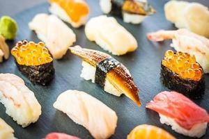 nigiri sushi set foto