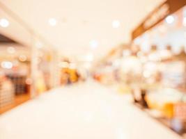 abstrakt defocused shopping mall interiör