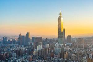 Taipei 101 torn i Taipei City, Taiwan