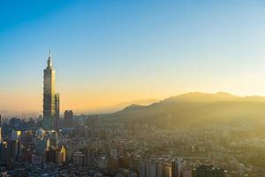 Taipei 101 torn i Taipei City, Taiwan foto