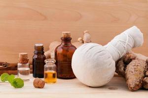 naturlig spa-vård foto