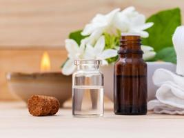 aromatiska eteriska oljor foto