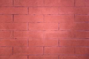 röd tegelvägg