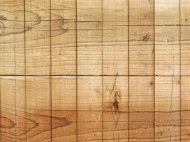 panel av träplattor för bakgrund eller konsistens foto