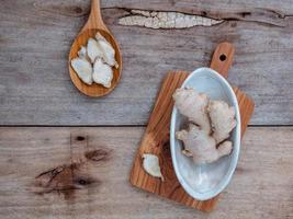 alternativ medicin och kryddor foto