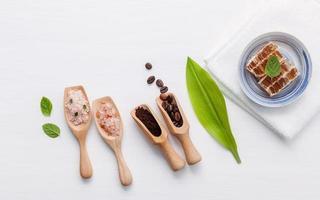 rå hudvårdsprodukter foto
