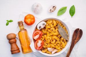 skål med pastakoncept