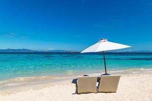 vacker tropisk strand