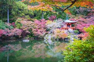 daigoji tempel i kyoto, japan foto