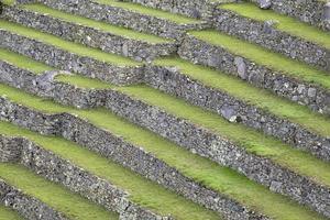 gröna terrasser i Peru foto
