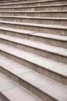 detalj av den tomma trappan foto