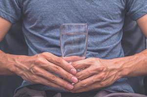 drick rent vatten för hälsan foto