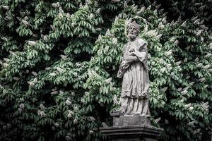 Tjeckien 2017 - statyn John of Nepomuk