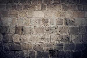 gammal väderbitna vägg
