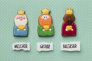 tre kungar med sina namn