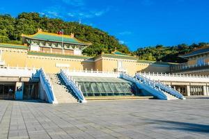 National Palace Museum i Taipei City, Taiwan foto