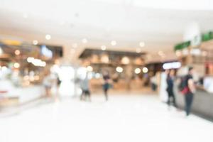 abstrakt defocused shopping mall interiör foto