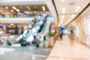 abstrakt defocused shopping mall interiör