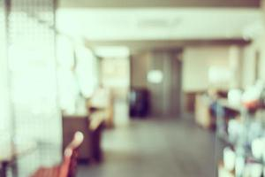 abstrakt defokuserad restaurangbakgrund foto