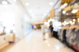 defokuserad shopping mall bakgrund foto