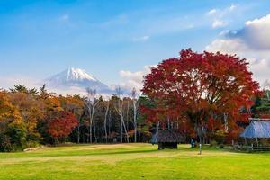 mt. fuji med i Yamanashi, Japan