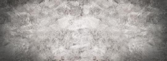 grå och svart cement eller betongvägg för bakgrund eller konsistens foto