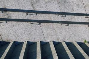 trappor arkitektur på gatan foto