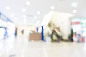 defocused shopping mall interiör foto