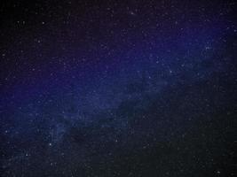 bild av Vintergatan foto
