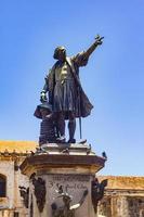 christopher columbus monument i Santo Domingo, Dominikanska republiken foto