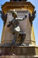 detalj av christopher columbus monument i Santo Domingo, Dominikanska republiken foto