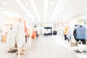 abstrakt defocused shopping mall bakgrund foto