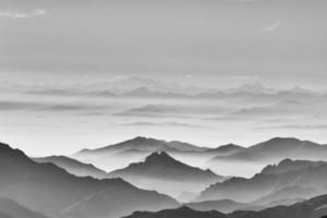 havet av berget foto