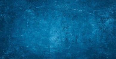 marinblå cementbetongtexturbakgrund foto
