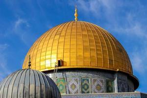 klippkupolen i Jerusalem