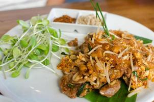 pad thailändsk måltid