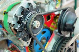 kedjor i motorns system foto