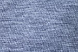 blått bomullstyg på nära håll foto